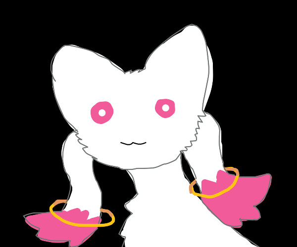 Evil Deceptive Cat Demon (Kyubey)