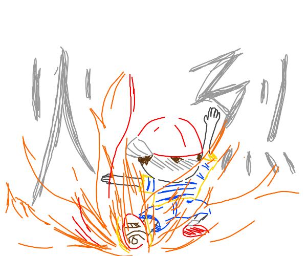 Ness is a firebender