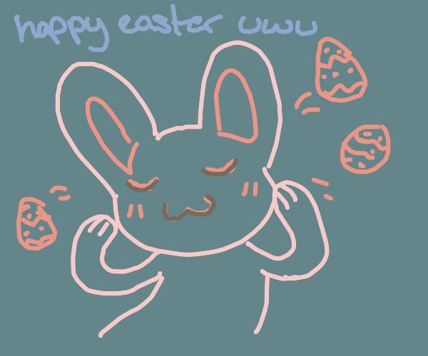 uwu easter bunny