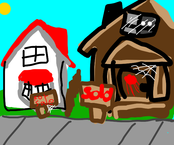 the haunted house is a much better value