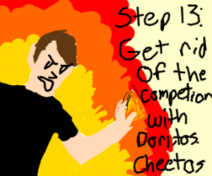 Step 12: Take over the world with Doritos