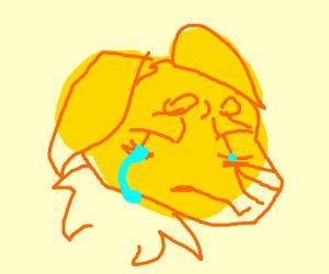 Depressed puppy