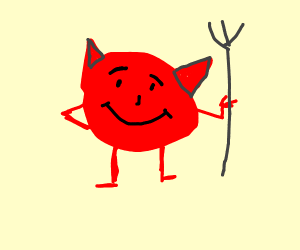 Demon that looks like the Kool aid man