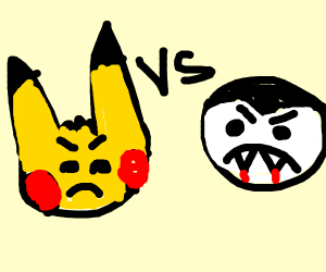 pikachu vs. dracula
