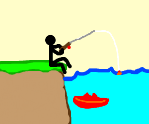 fishing for lips
