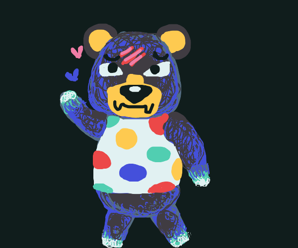 Twister bear& hearts