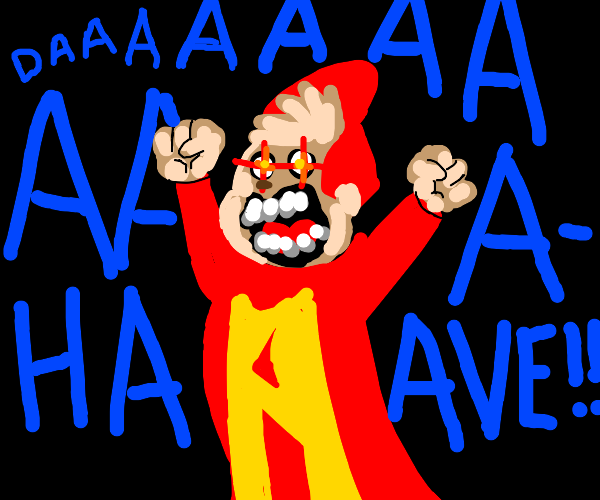 Angry Alvin