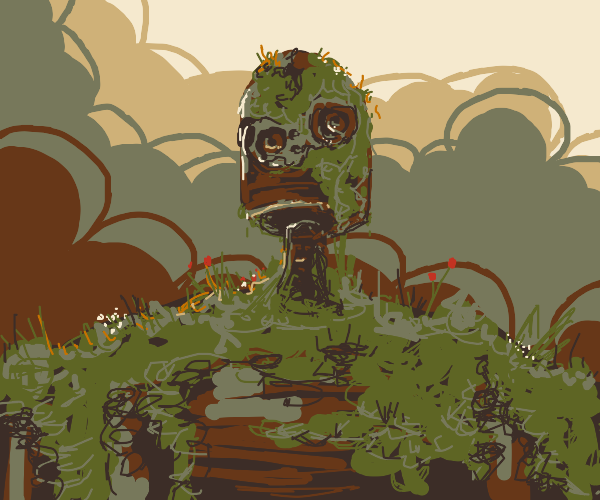 That mossy old robot from Castle in the Sky