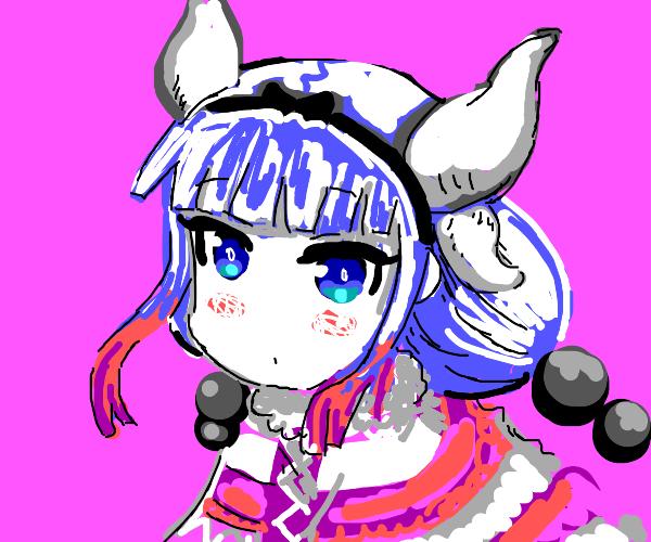 Kanna Kamui (Kobayashi's Dragon Maid Anime)