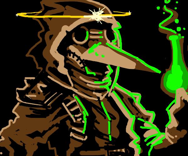 Holy Plague Doctor Alchemist