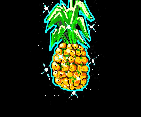 shiny pineapple