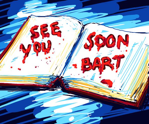 A book written in blood