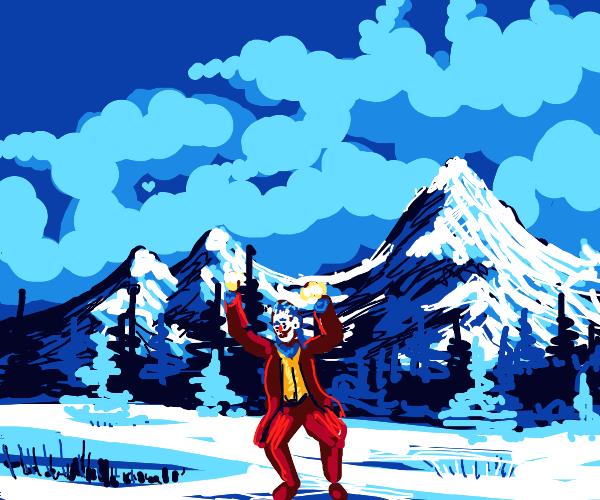 Joaquin in a winter wonderland...