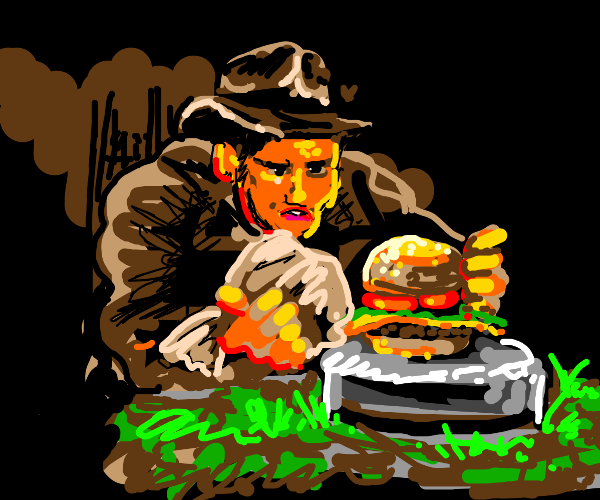 Indiana Jones and the last Cheese Burger