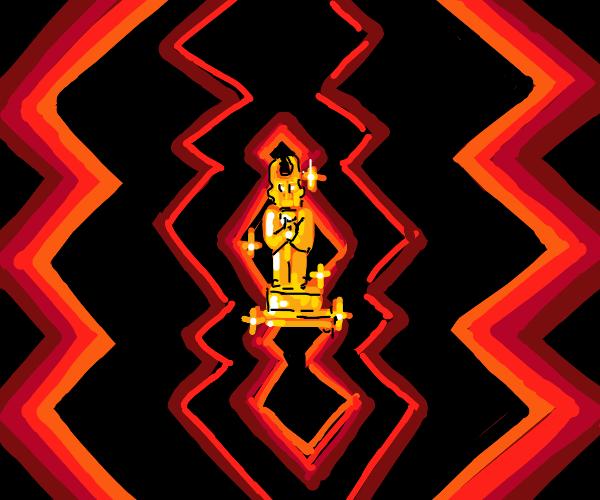 trophy in hell
