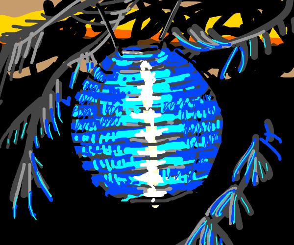 A Blue Lantern