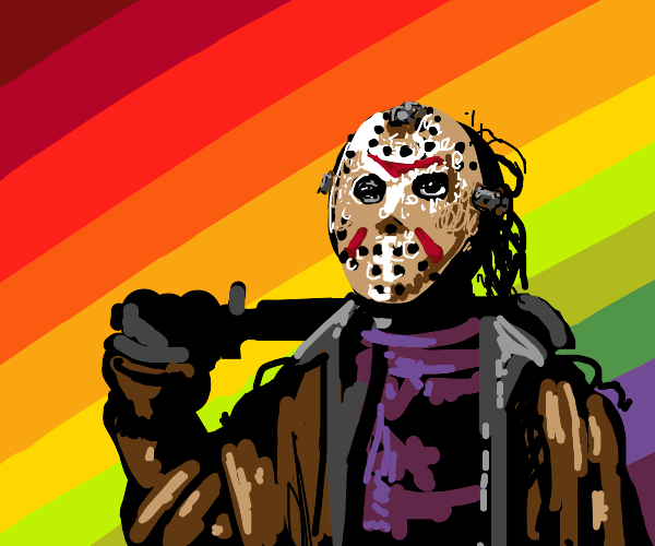 Killer with a mask
