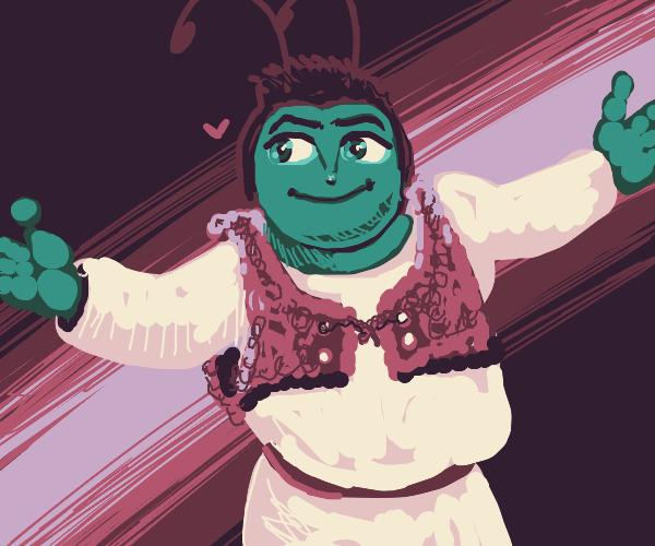 Shrek And Barry B Benson's Child