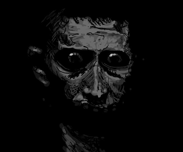 ominous portrait