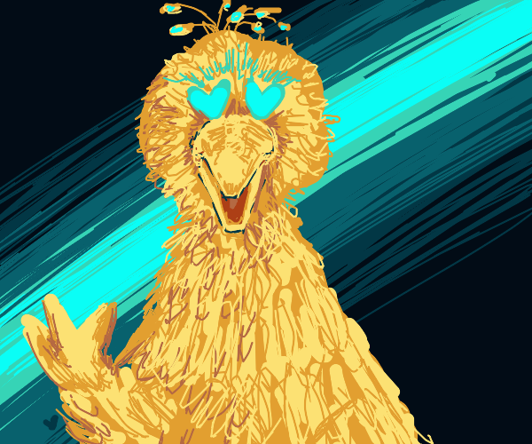 big bird in love with you