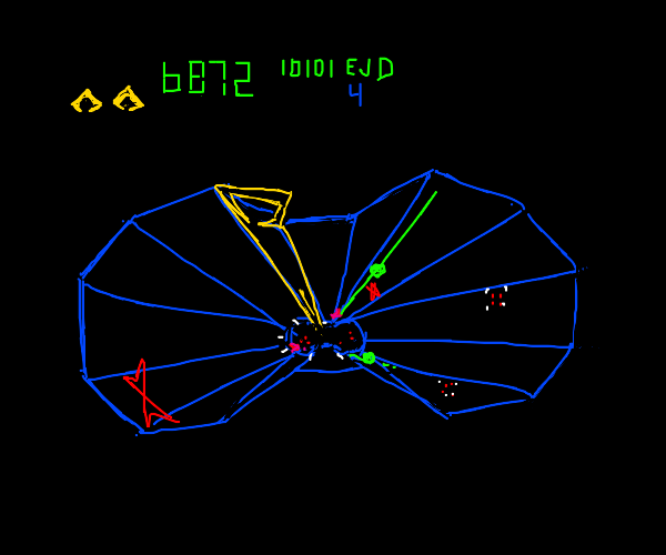 Retro Arcade space shooter