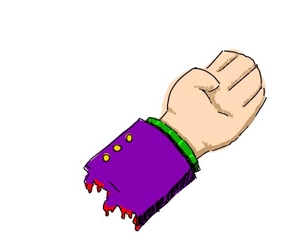 Yoshicage Kira's Severed Hand