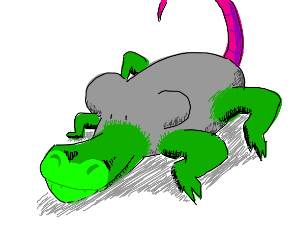 Mouse-Crocodile hybrid