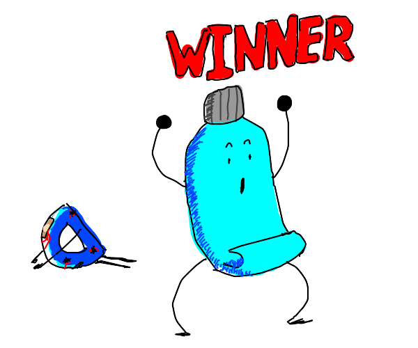 Toothpaste wins after beating up Drawception