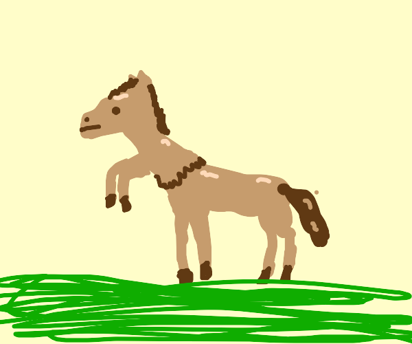 Horse with 6 legs