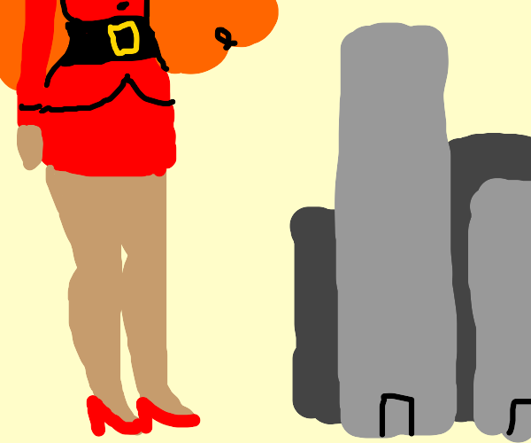 Sara Bellum from PPG is SUPER tall