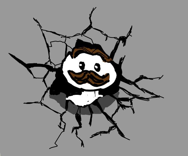 """Pringles guy: """"Property damage!"""""""