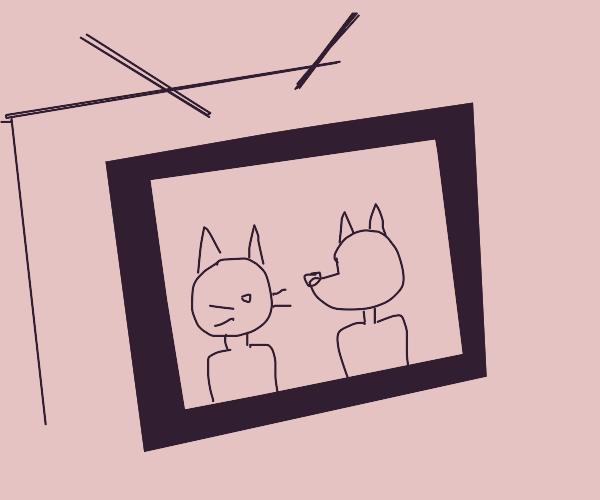 A furry tv show