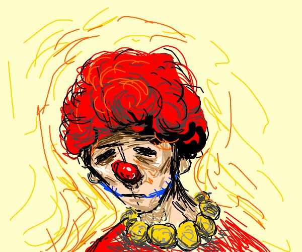 super spoopy clown boy