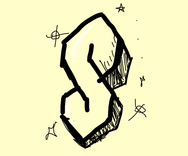 "That cool ""s"" everyone used to draw at school"