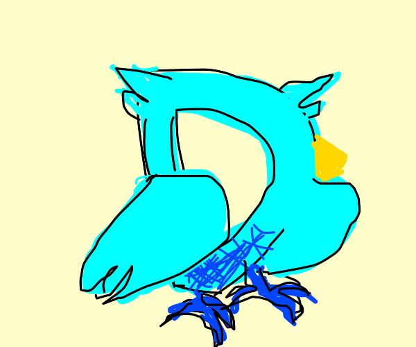 Drawception as an owl