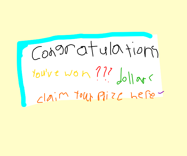 Random reward lottery