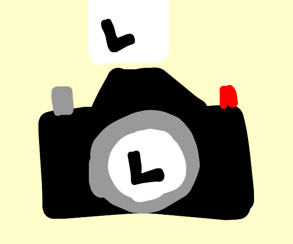 taking a picture of a letter