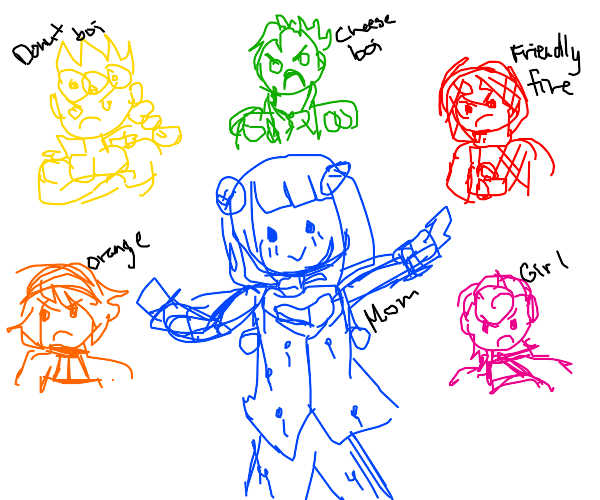 bruno and his 5 angry italian children
