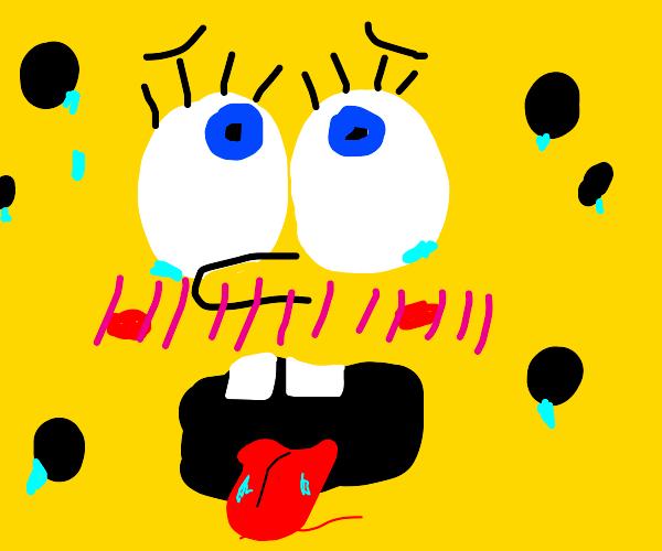 Ahegao Spongebob