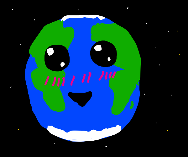 Cute earth