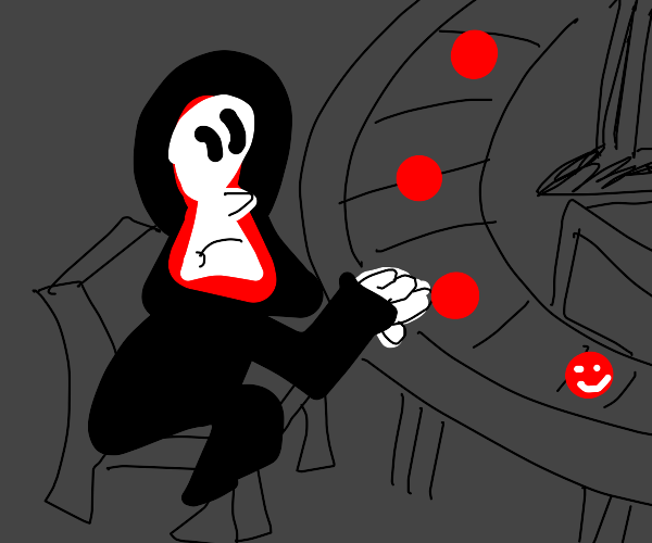 grim reapers working in factory