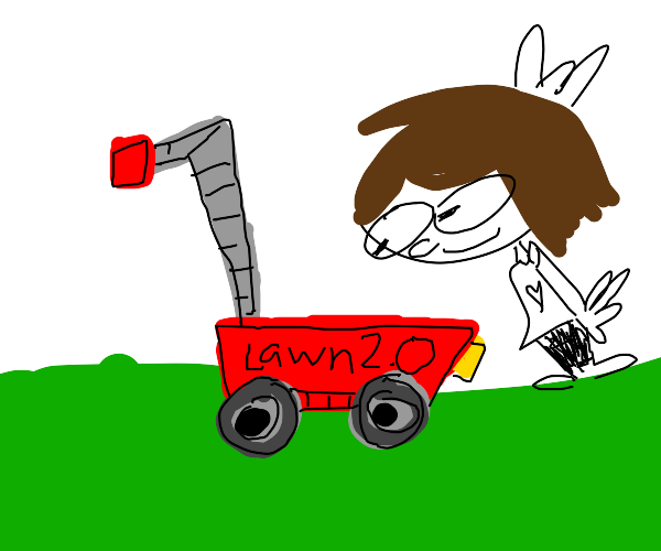 Love my lawnmower gonna take a pic of it