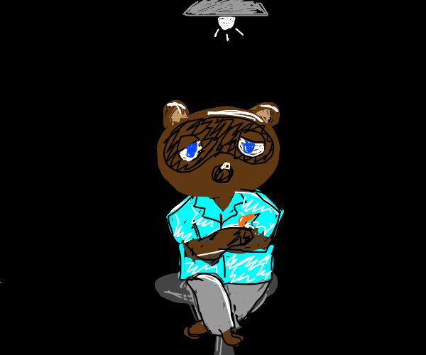 tom nook in his lair