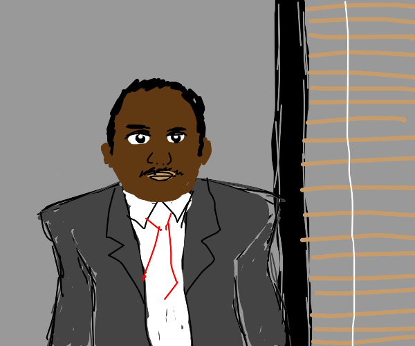 Stanley Hudson from the office
