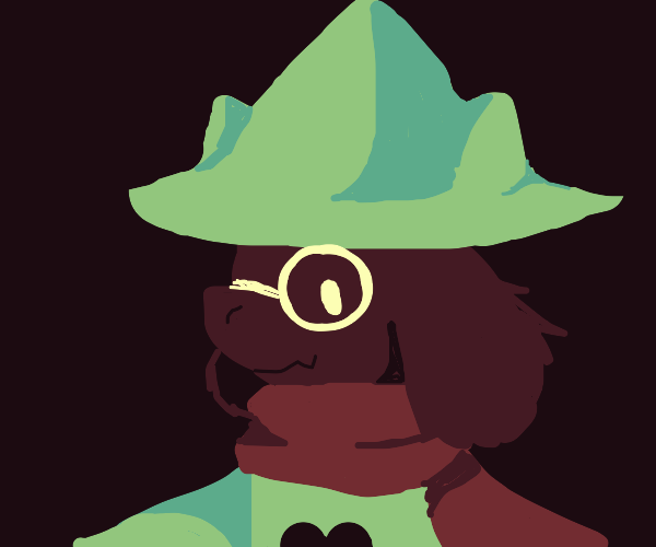 Ralsei from Deltarune