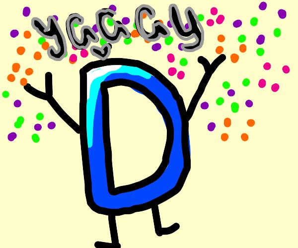 cheering drawception D