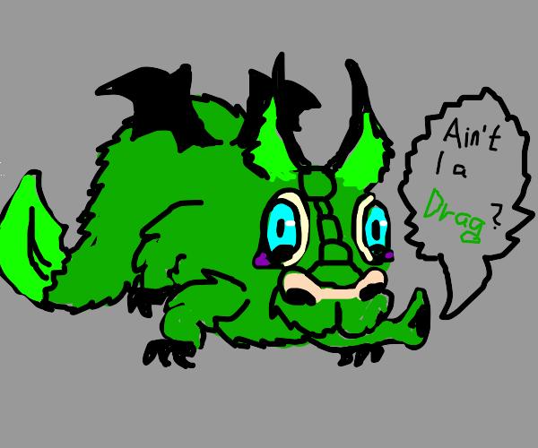 Cat Dragon is Cringe