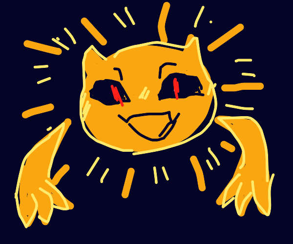 the sun is a monster
