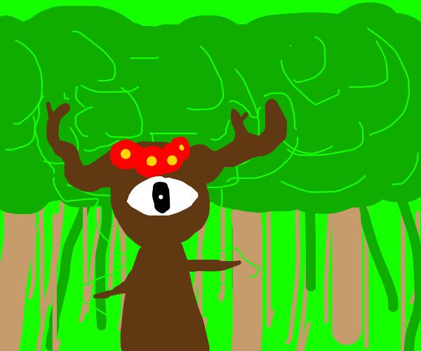 Spirit god of the forest