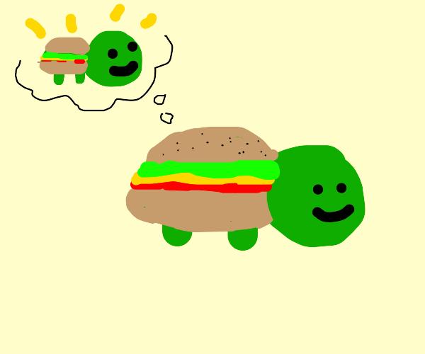 narcissistic hamburger turtle